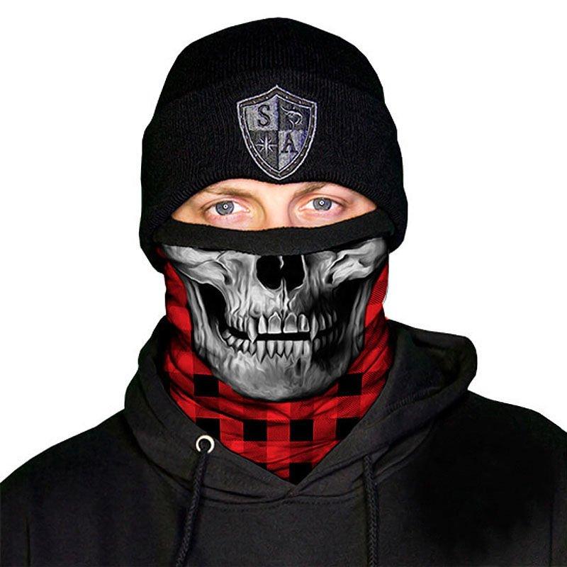 SA STEALTH TECH CAMO HYDRO Face Shield Mask Balaclava Head band Beanie Bandanna