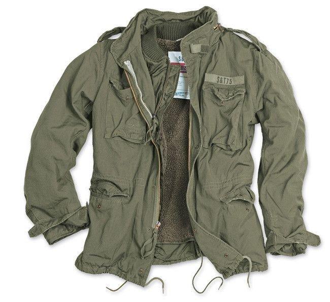 Us Army Surplus >> Surplus M65 Jacket Regiment 2in1 Us Army Olive