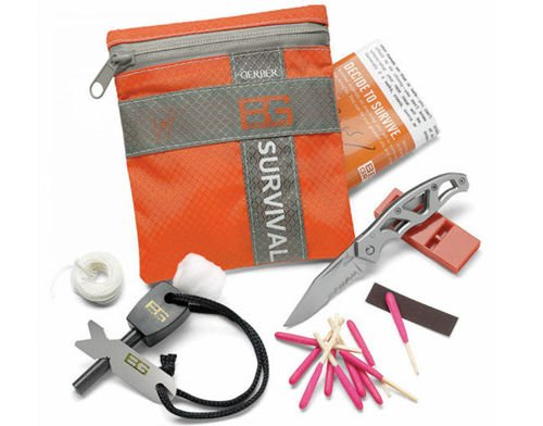 Gerber Basic Survival Kit Bear Grylls