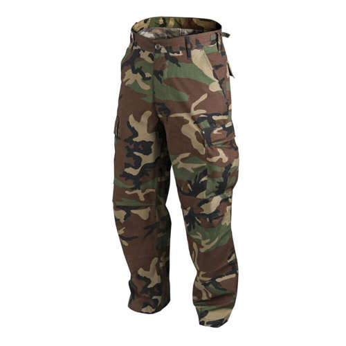 Helikon-Tex Tactical BDU Rip-Stop PolyCotton Pant US Woodland