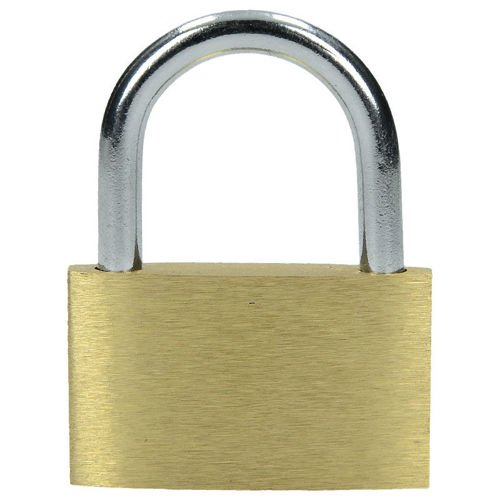 Highlander Brass Padlock with Key