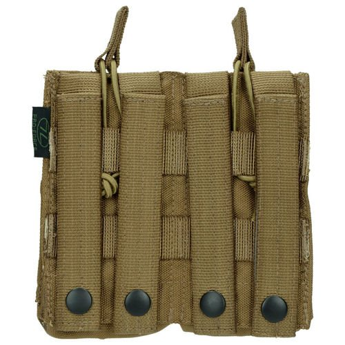 Highlander Double Quick Release Pouch Coyote
