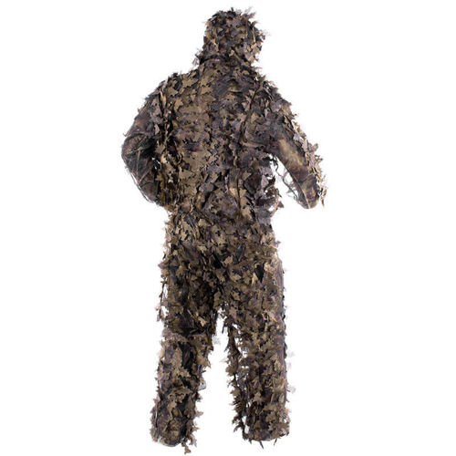 MFH Ghillie Suit Leaves Hunter Brown