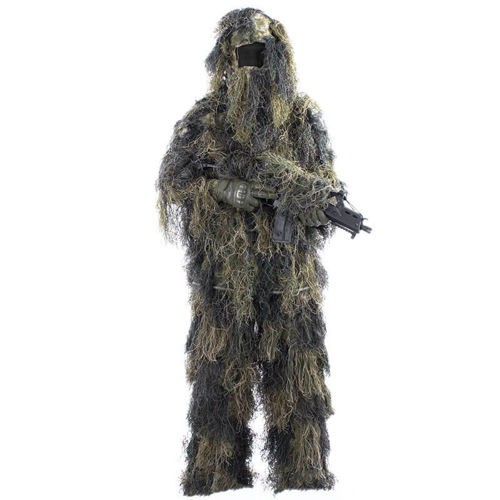 MFH Ghillie Suit Woodland