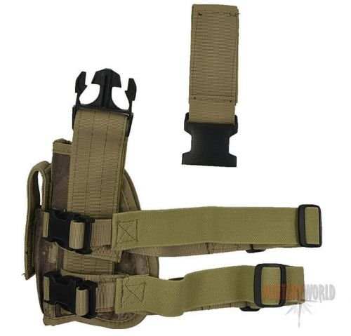 MFH Right Tactical Leg Holster HDT Camo