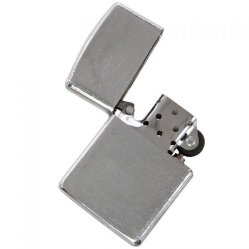 MFH Windproof Lighter Chrome Brushed