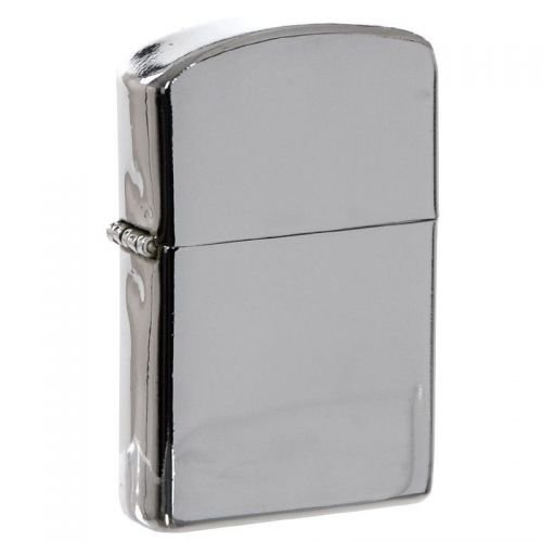 MFH Windproof Lighter Chrome Polished