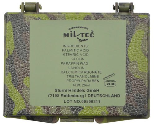 Mil-Tec Face Paint a box 3 colors Woodland