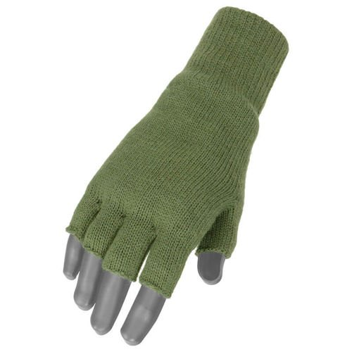 Mil-Tec Fingerless Gloves Thinsulate Olive