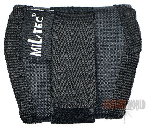 Mil-Tec Handcuffs Holder Open Black
