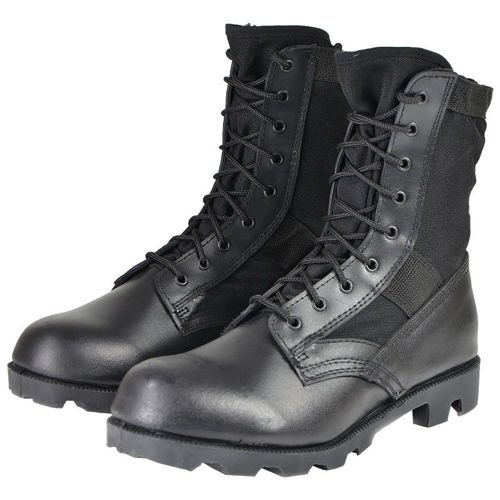 Mil-Tec Jungle Panama Boots Black