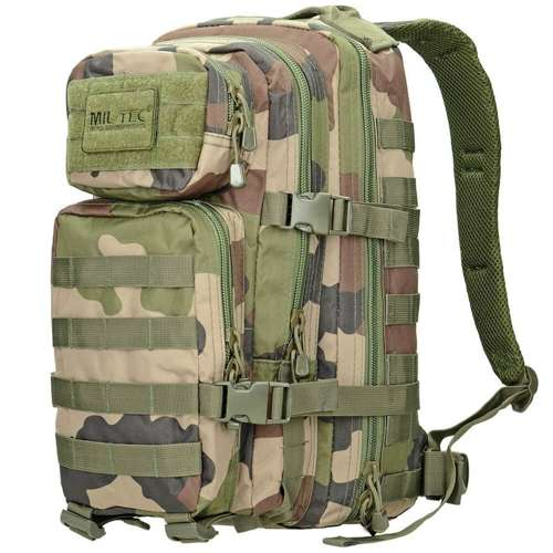 Mil-Tec MOLLE Tactical Backpack US Assault 20L CCE