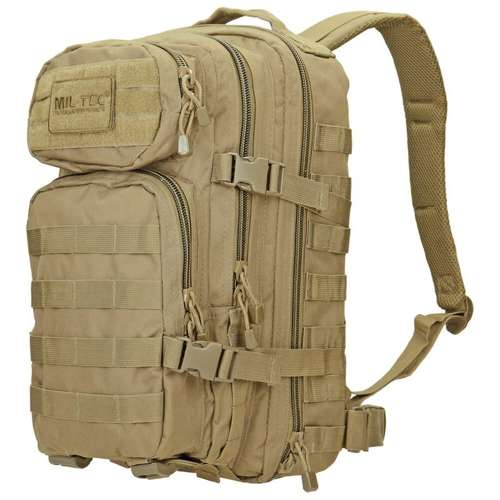 Mil-Tec MOLLE Tactical Backpack US Assault 20L Coyote