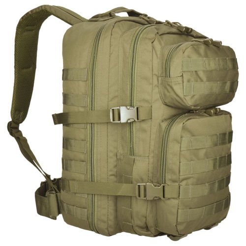 Mil-Tec MOLLE Tactical Backpack US Assault 36L Coyote