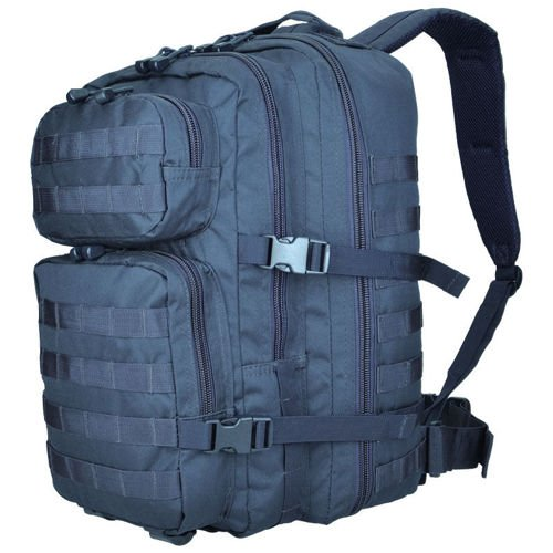 Mil-Tec MOLLE Tactical Backpack US Assault 36L Navy Blue