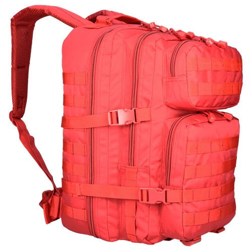 Mil-Tec MOLLE Tactical Backpack US Assault 36L Red