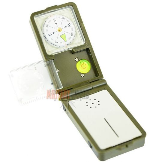 Mil-Tec Multi-Functional Compass 10in1 Olive
