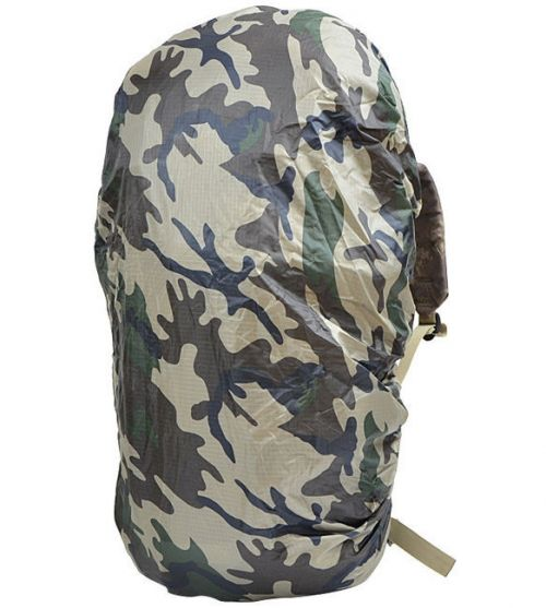 Mil-Tec Rucksack Cover Rip-Stop 130L CCE