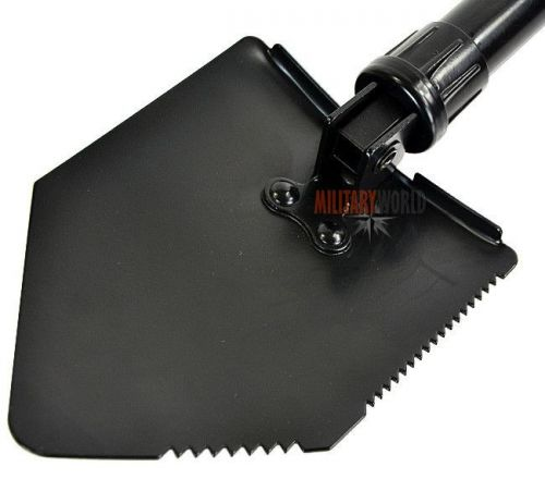 Mil-Tec Trifold Shovel with a Cover Black