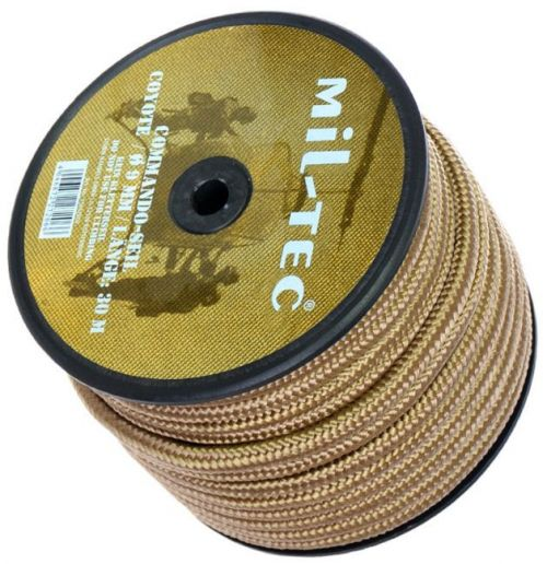 Mil-Tec Universal Rope Commando 9mm Coyote [by the meter]