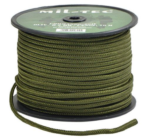 Mil-Tec Universal Rope Survival 5mm Olive [by the meter]